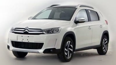 China's Citroen C3-XR Crossover Surfaces In Production Skin