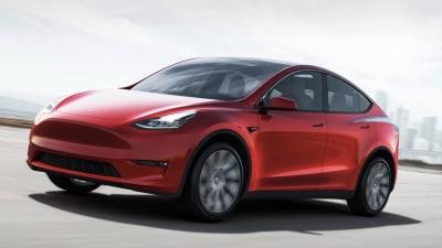 2021 Tesla new cars