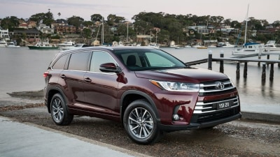 2017 Toyota Kluger - Price And Features For Facelifted Family SUV In Australia
