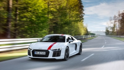 Rear-wheel drive Audi R8 revealed