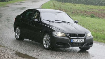 BMW 3-Series E90/E91 facelift