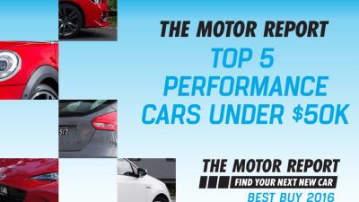 TMR Best Buy 2016 - Top 5 Performance Cars Under $50,000 - Mazda MX-5, Subaru WRX, Volkswagen Polo GTI, MINI John Cooper Works, Ford Focus ST