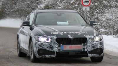 BMW 4 Series Coupe Sheds Camo