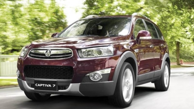 Holden Captiva Gets New Features, Improved Fuel Economy, E85 Capability