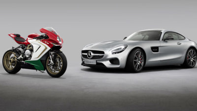 Official: Mercedes-AMG To Buy 25 Percent Stake In MV Agusta