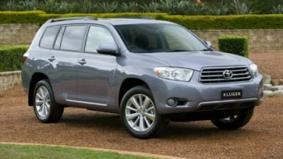 2009 Toyota Kluger Altitude Packed With Extras