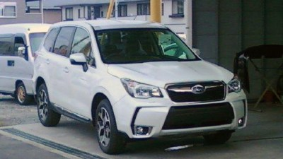 2014 Subaru Forester Spied Undisguised, XT Turbo Version Appears