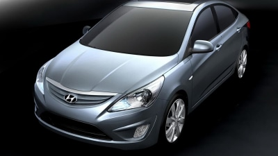 2011 Hyundai Accent Revealed At Beijing Auto Show