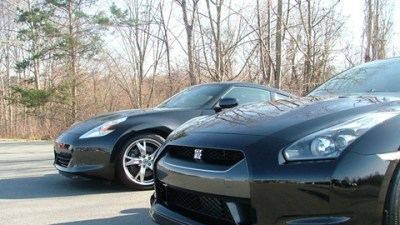 Nissan's Heroes – The GT-R And The 370Z – Side By Side