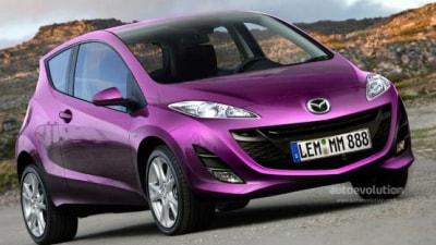2010 Mazda1 Rendered Speculation