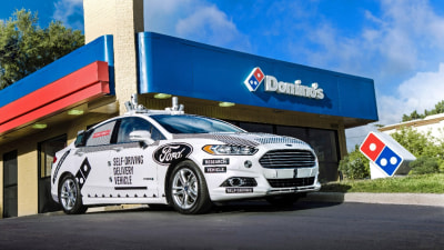 Ford And Domino's Pizza Create Unlikely Autonomous Research Team