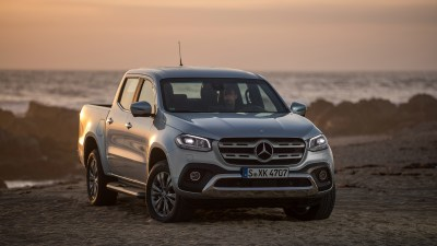 Mercedes-AMG could apply styling treatments to the X-Class ute