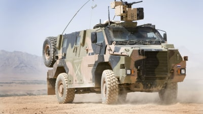 New Zealand to buy 43 Aussie-designed and built Bushmaster defence vehicles