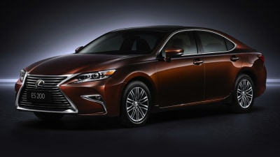 New Lexus ES Facelift Revealed, Late 2015 Australian Debut Confirmed