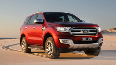 Ford Adds No-Cost Off-Road Tyre Package to Top-Shelf Everest 4×4