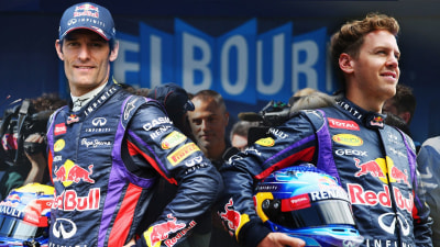 F1: Departing Webber Not Ready For 'Red Wine' With Vettel
