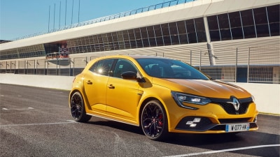 2018 Renault Megane RS Overseas Preview Drive