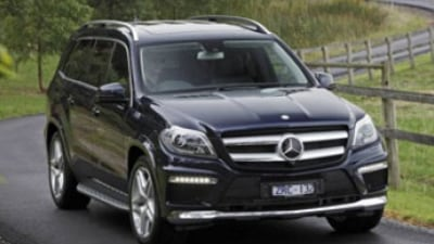 Car pool: Mercedes-Benz GL500