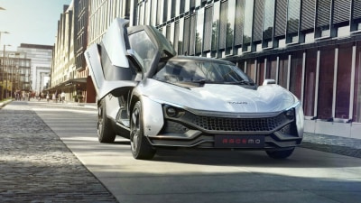 Tata Racemo Two-Seat Sports Car - Geneva Motor Show