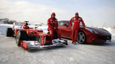 F1: Ferrari F2012 Race Car Revealed