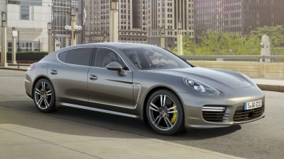 2014 Porsche Panamera Turbo S: $444,000 Super Sedan Here In February