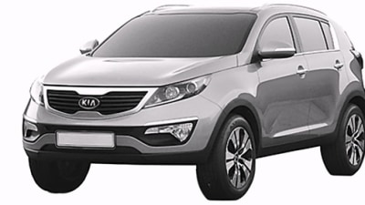 2011 Kia Sportage Revealed In Leaked Patent Application Images