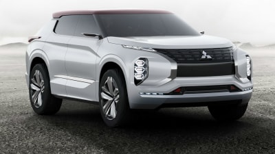 Paris Motor Show - Mitsubishi Outlines Future Plans With GT PHEV Concept