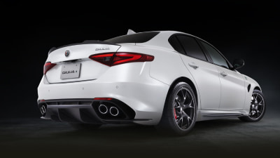 Alfa Romeo reveals limited edition Giulia QV