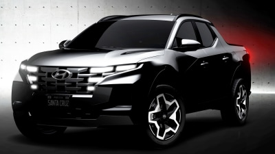 2022 Hyundai Santa Cruz teased, still ruled out for Australia and we're sad about that