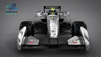 Formula E Electric Race Car To Debut At Frankfurt