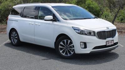 Kia Carnival Review 2015: S V6 Petrol & SLi Diesel People Movers