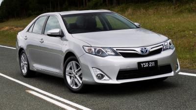 Toyota's Greenest Camry Surpasses Prius In Australian Hybrid Sales
