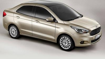 2015 Ford Figo/Ka Sedan Debuts In Delhi