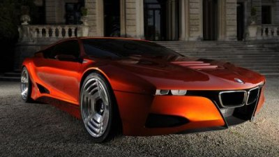 2008 BMW Hommage concept car - tribute to the M1