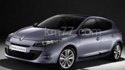 2009 Renault Megane Photos Leaked