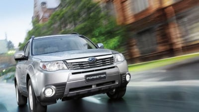 Subaru Holds The Line, Impreza And Forester Achieve April Records