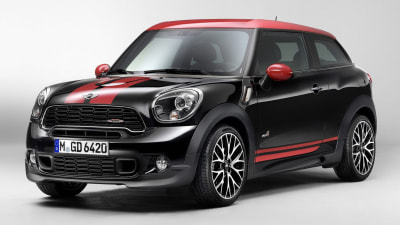 MINI Paceman JCW Revealed In New Leaked Images