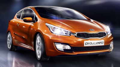 2013 Kia Pro_Cee'd Revealed Further In Paris