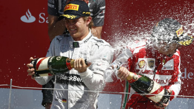 F1: Nico Rosberg Wins British GP, Strong Outing for Aussies