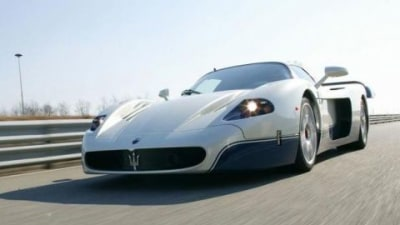 Maserati MC-12 Records Unofficial Production Car Nurburgring Lap Record