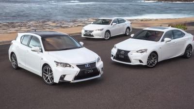 Lexus Australia Prices Slashed On Hatches, Sedans, SUVs