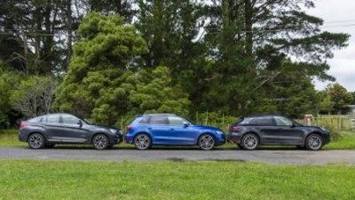Performance SUV comparison: Porsche Macan S v Audi SQ5 v BMW X4 30d