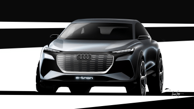 First look: Audi new Q4 e-tron