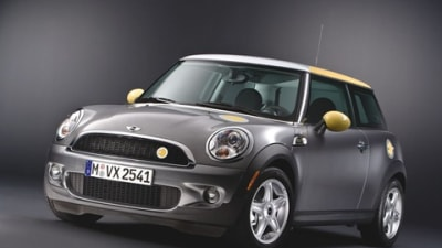 MINI Reveals All-Electric MINI E