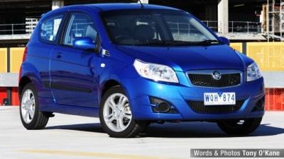 2009 Holden Barina 3-Door Hatch Road Test Review
