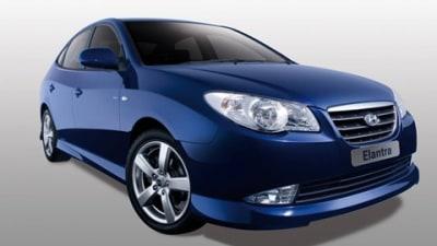 Hyundai Elantra LPI Hybrid Electric Vehicle on Sale in 2009