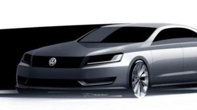 Volkswagen Mid-Sized Sedan Scheduled For 2012 US Debut