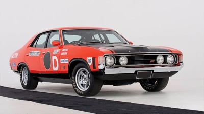 Historic Falcon goes to auction