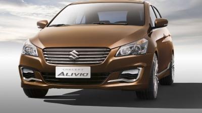 Suzuki Alivio Sedan Revealed At Beijing Auto Show