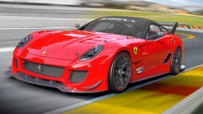 2012 Ferrari 599XX: More Go, Less Bulk